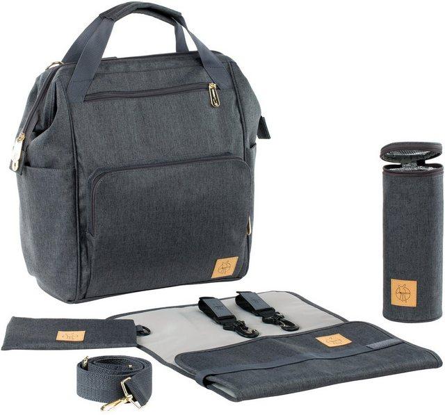 Wickelmöbel und Zubehör - Lässig Wickelrucksack »Glam Goldie Backpack, Anthracite«  - Onlineshop OTTO