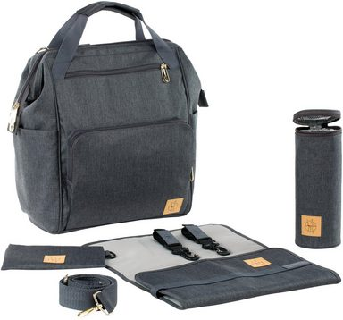 Goldie Backpack Lässig Anthracite« Wickelunterlage »glam Wickelrucksack Mit IxqBrqSw0v