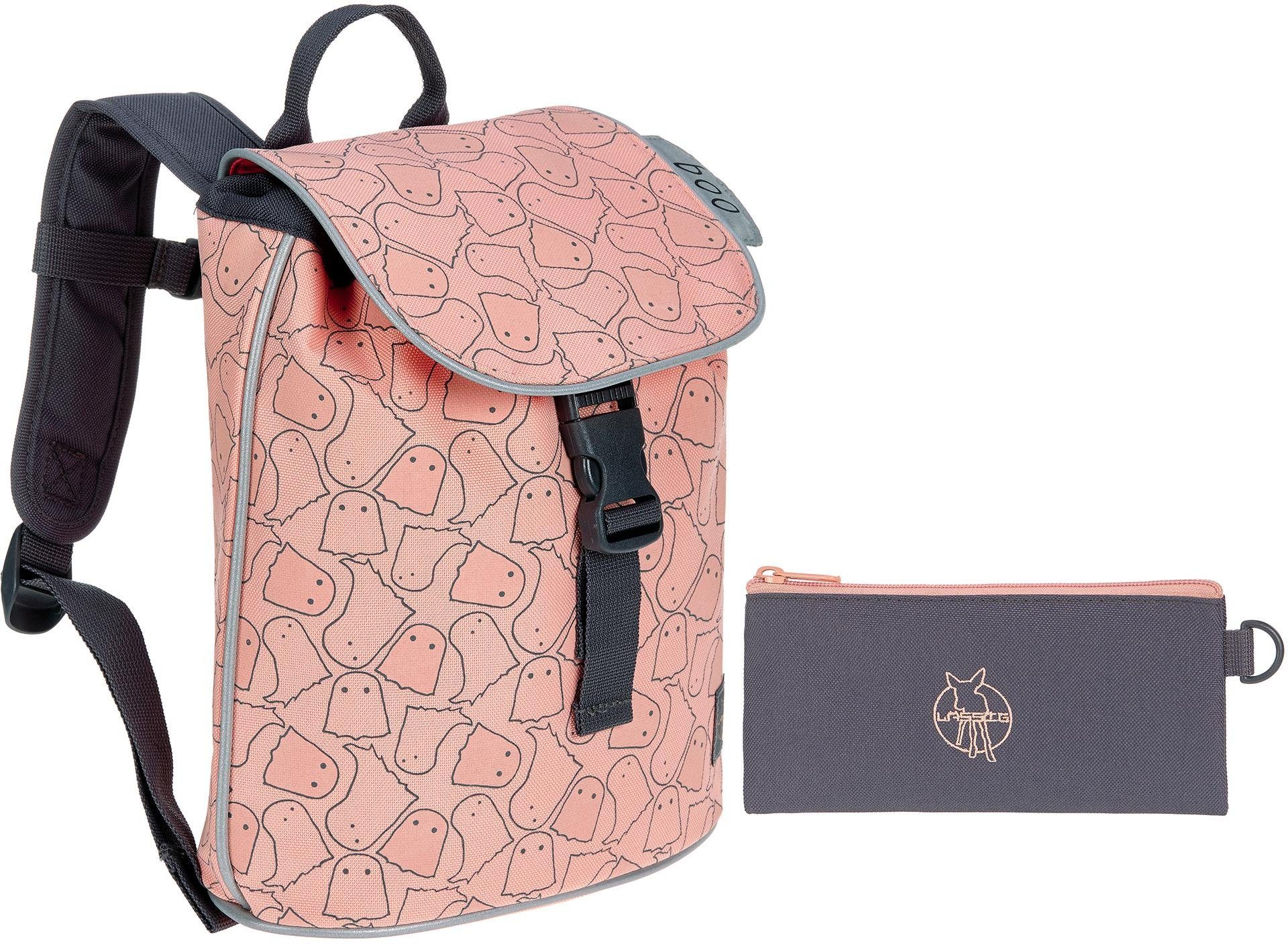 Lässig Kinderrucksack, »4Kids Mini Duffle Backpack, Spooky Peach«