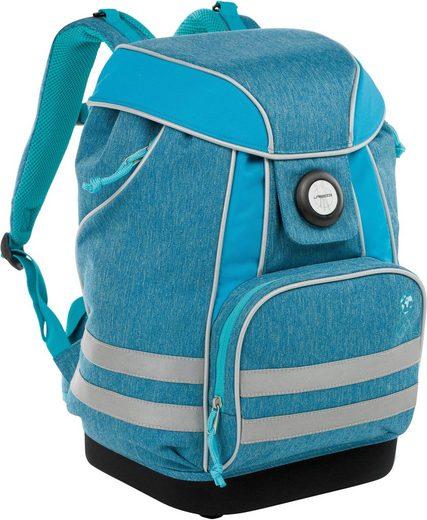 Lässig Schulrucksack »4Kids School Bag, About Friends, Mélange Blue«