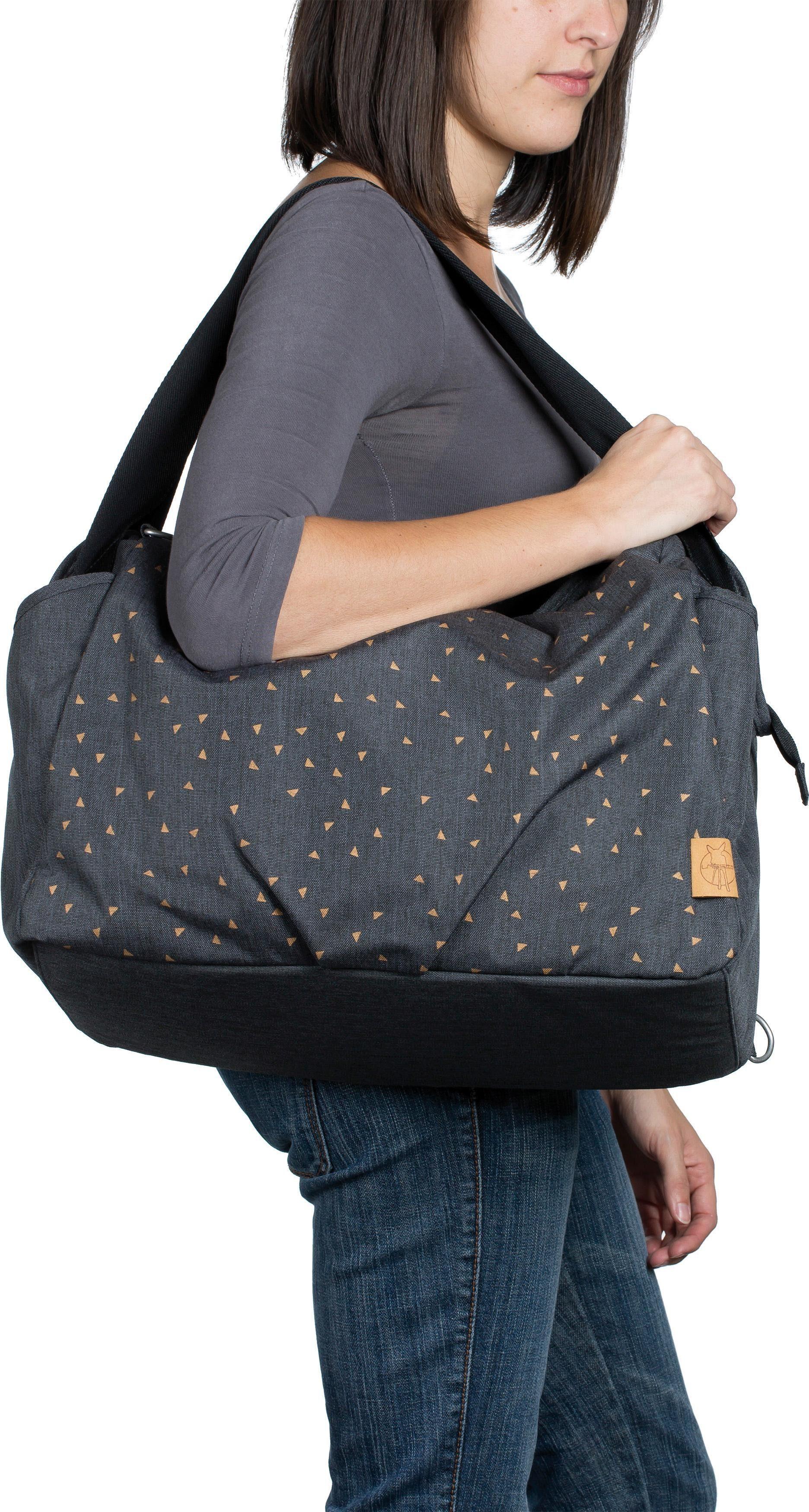 Twin Grey« Wickelunterlage »casual Wickeltasche Triangle Bag Lässig Mit Dark wZIf48
