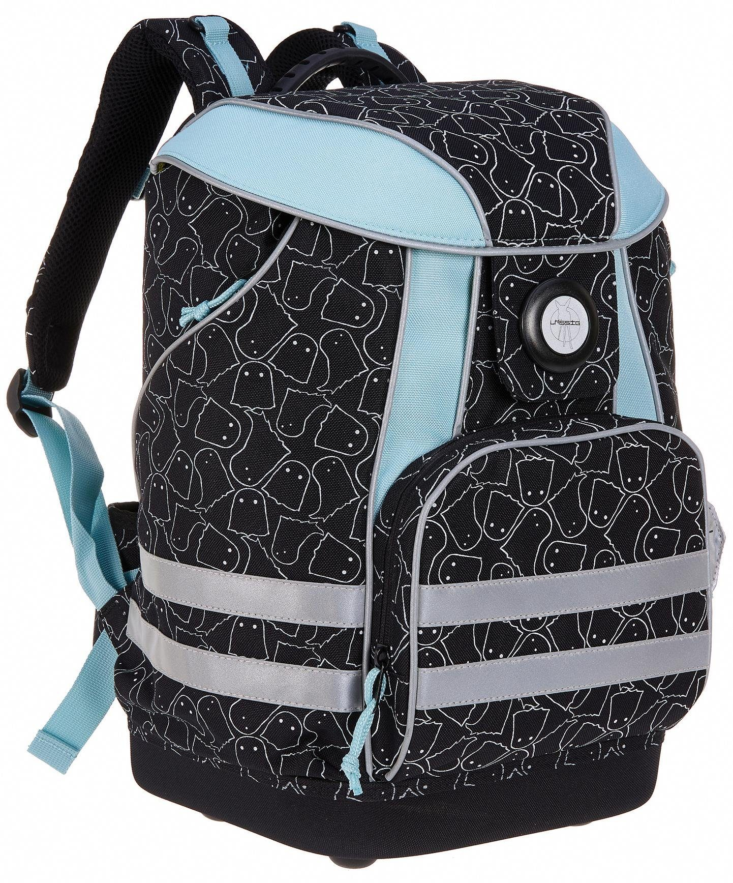 Lässig Schulrucksack, »4Kids School Bag, Spooky Black«
