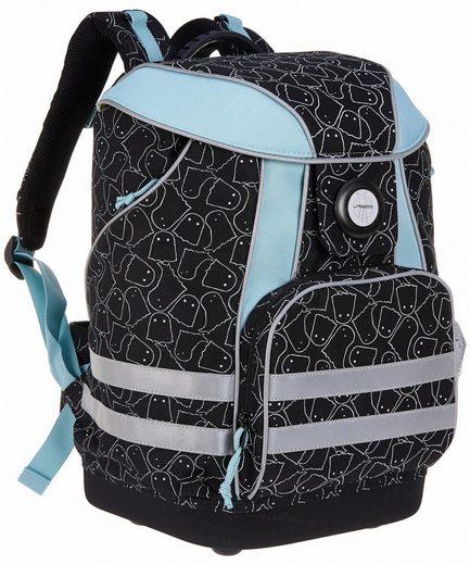 Lässig Schulrucksack »4Kids School Bag, Spooky Black«