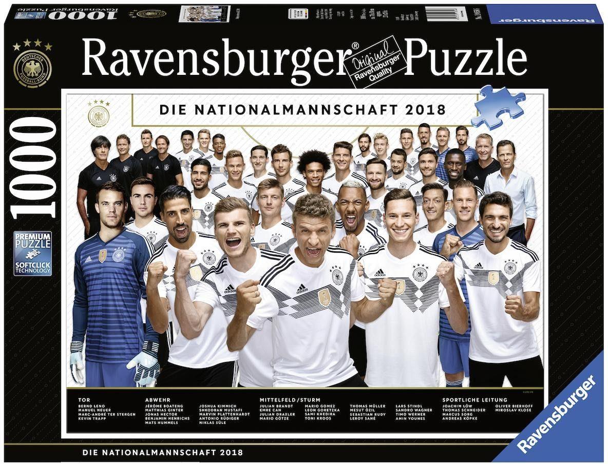 Ravensburger Puzzle, 1000 Teile, »Weltmeisterschaft 2018«