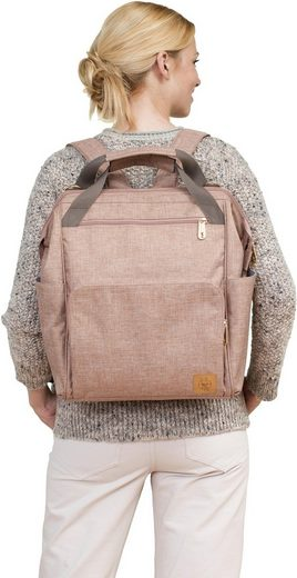 Goldie »glam Backpack Wickelunterlage Mit Lässig Wickelrucksack Rose« w4q7TT