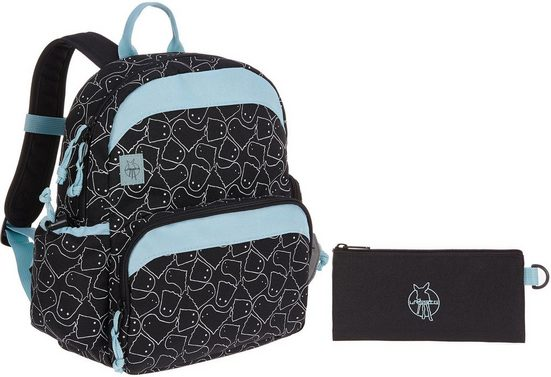 Lässig Kinderrucksack »4Kids Medium Backpack, Spooky Black«