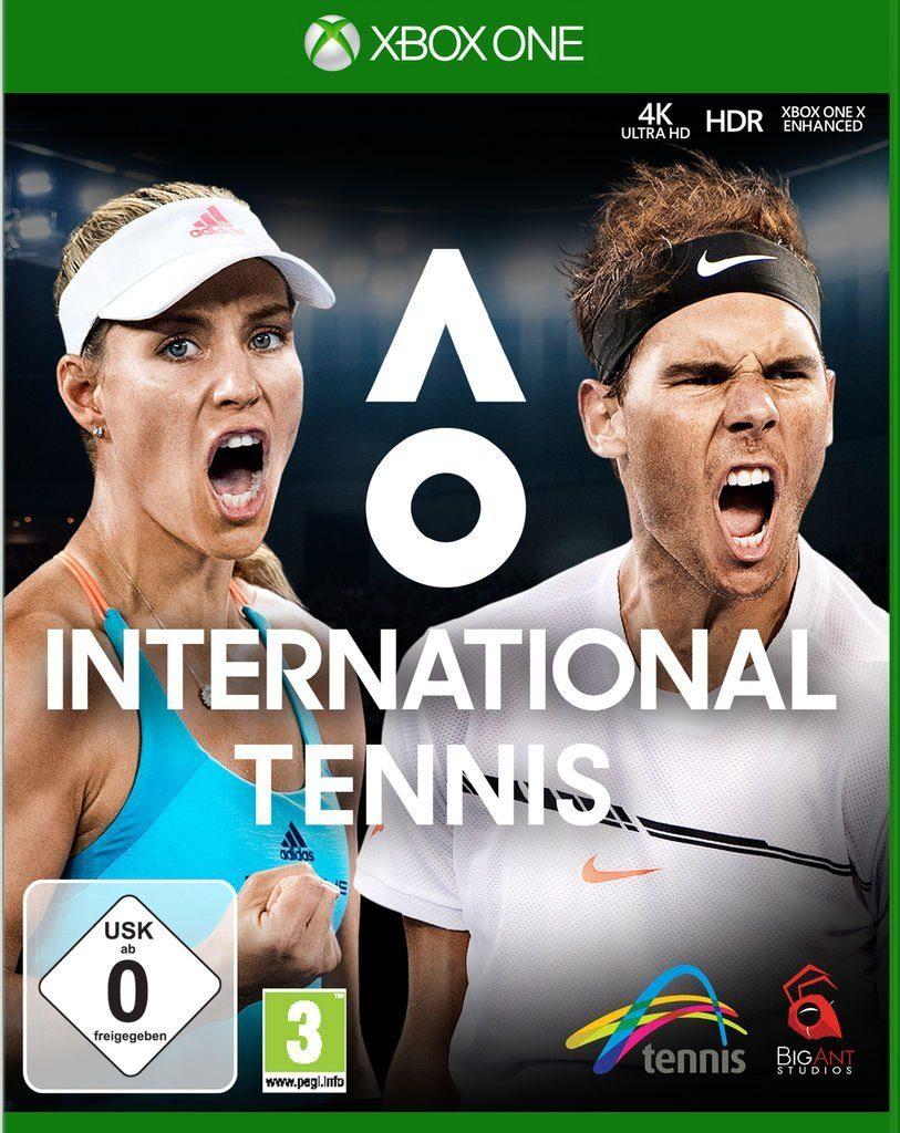 Astragon XBOX One - Spiel »AO International Tennis«