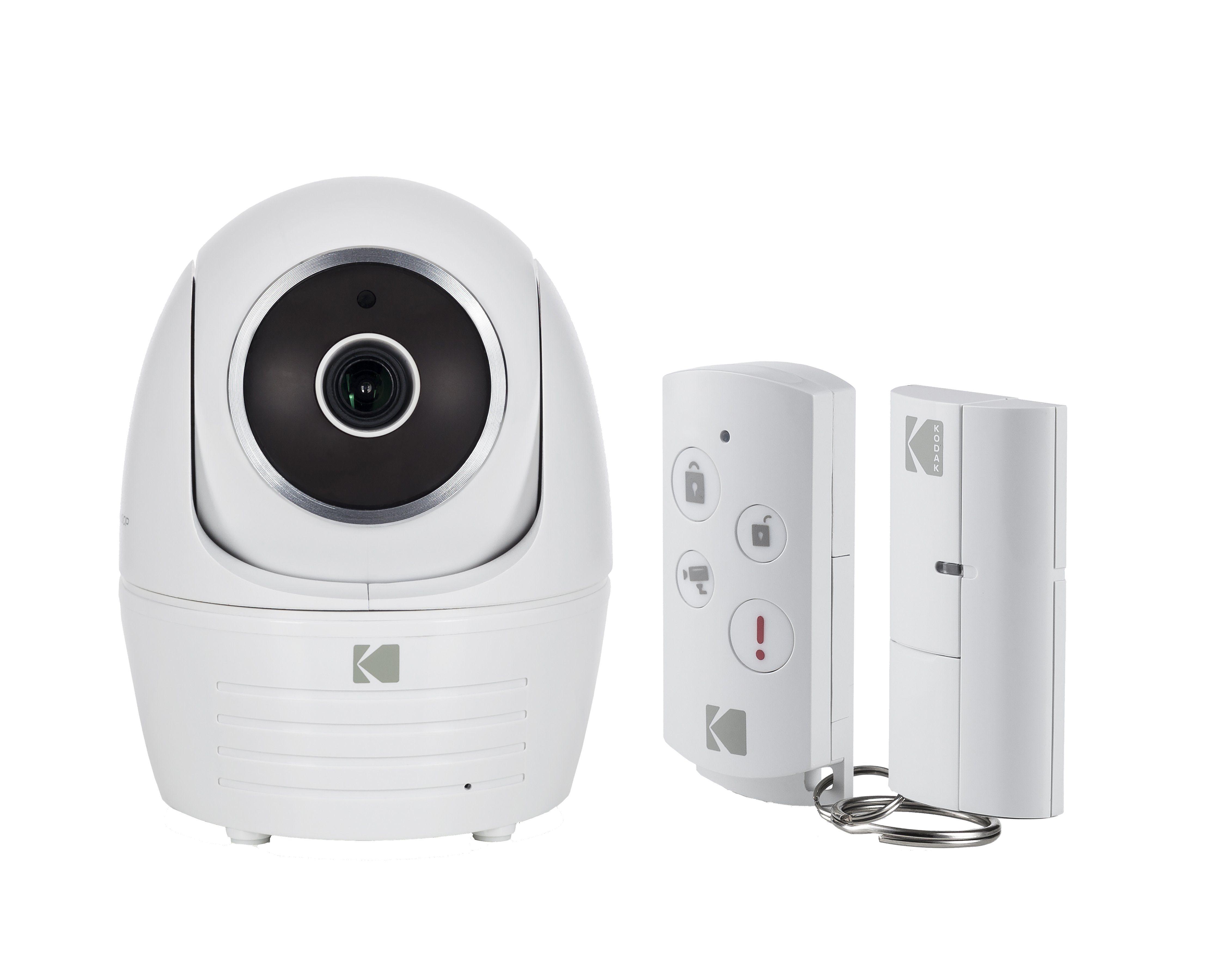 Kodak Set aus Überwachungskamera, Türsensor und Fernbedienung »IP101WG Starter«