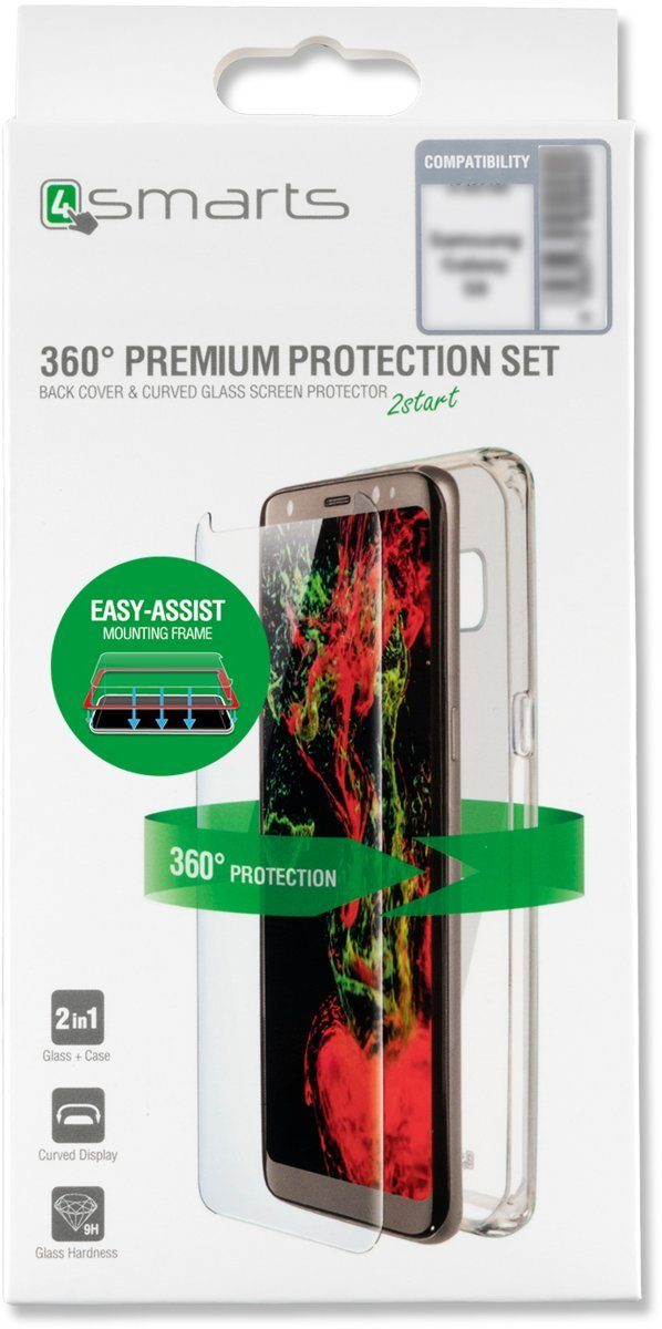 4Smarts Handytasche »360° Protection Set Easy-Assist Galaxy S8+«