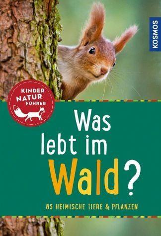 Broschiertes Buch »Was lebt im Wald? Kindernaturführer«