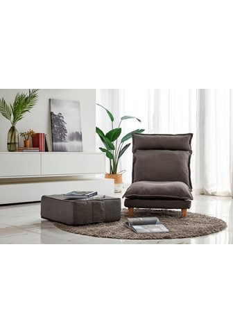 SalesFever Loungeset (Set 2-tlg. Sessel su Hocker...