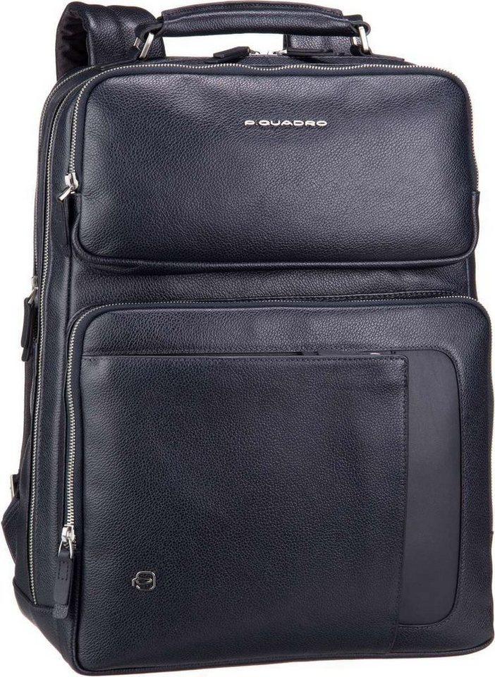 Piquadro Laptoprucksack »Erse 4275« | Taschen > Rucksäcke | Blau | Polyester | Piquadro