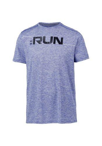 Herren Under Armour® Laufshirt Run Front Graphic blau | 00191169866832