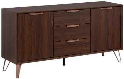 Home Affaire Sideboard »Zelda«, mit 2 Türen und 3 Schubladen, Breite 140 cm