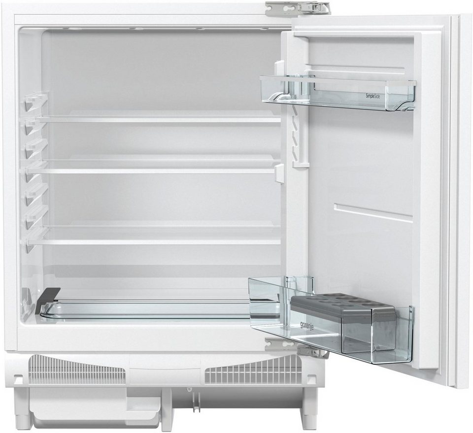 gorenje einbauk hlschrank riu6092aw 82 cm hoch 59 6 cm breit online kaufen otto. Black Bedroom Furniture Sets. Home Design Ideas