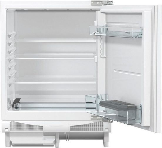 GORENJE Einbaukühlschrank RIU6092AW, 82 cm hoch, 59,6 cm breit