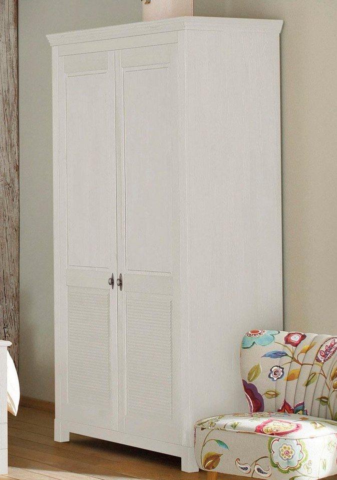 Home affaire Kleiderschrank »Rauna« aus massiver Kiefer, 214cm hoch online  kaufen | OTTO