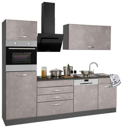 Küchenzeile 240, 250 & 260 cm online kaufen | OTTO