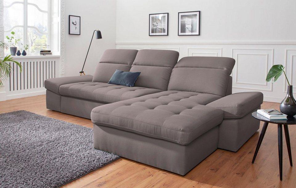Sit Amp More Polsterecke Wahlweise Mit Bettfunktion Und