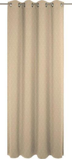 Vorhang »Indian Cortezada Light«, Adam, Ösen (1 Stück), GOTS zertifziert