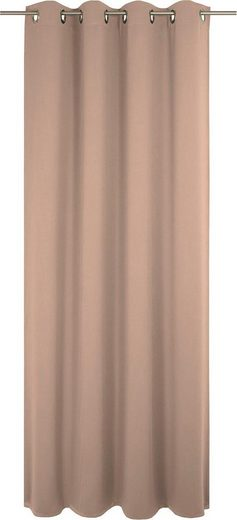 Vorhang »Uni Light Collection«, Adam, Ösen (1 Stück), GOTS zertifziert