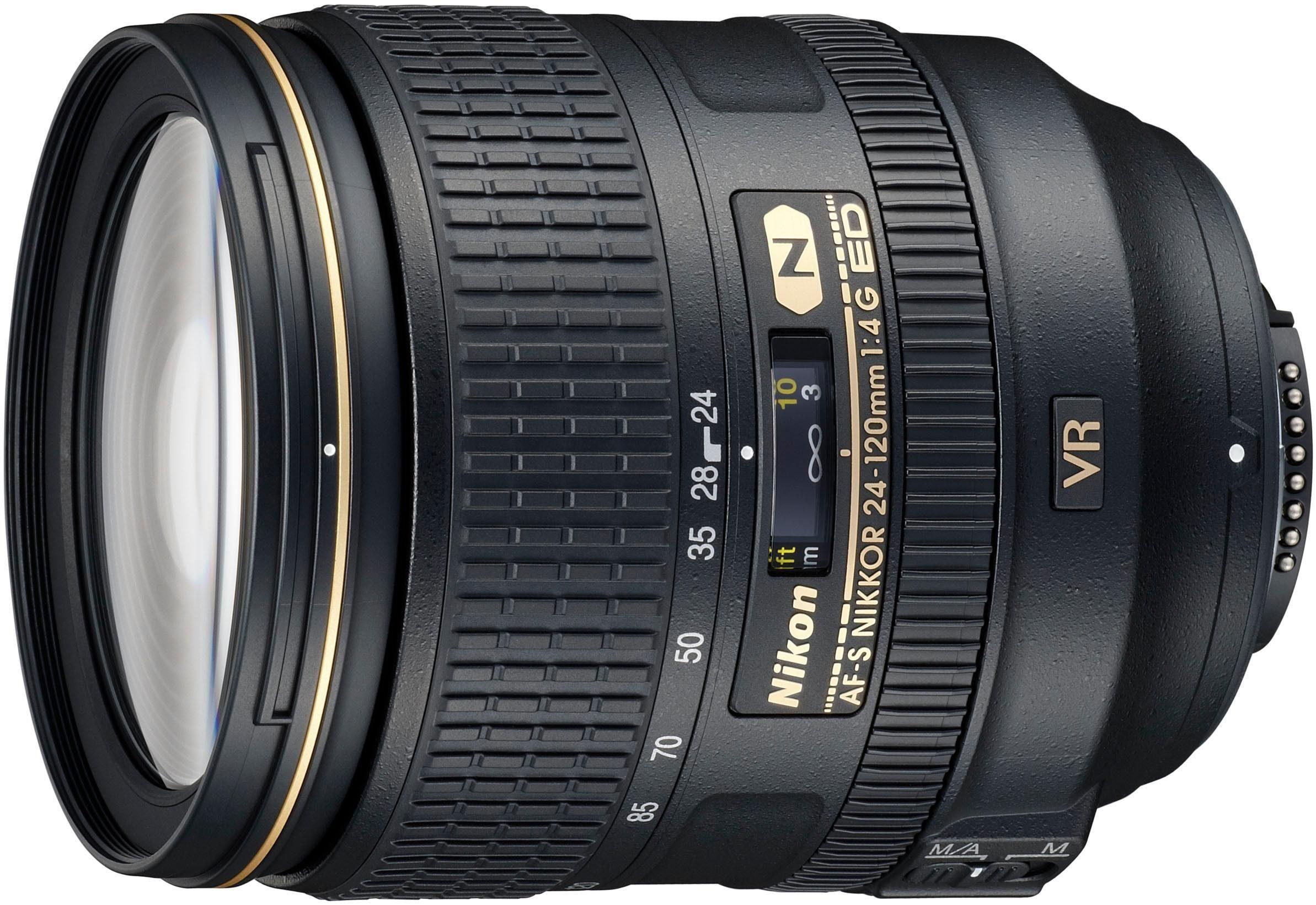 Nikon »AF-S NIKKOR 24-120 MM 1:4G ED VR« Zoomobjektiv