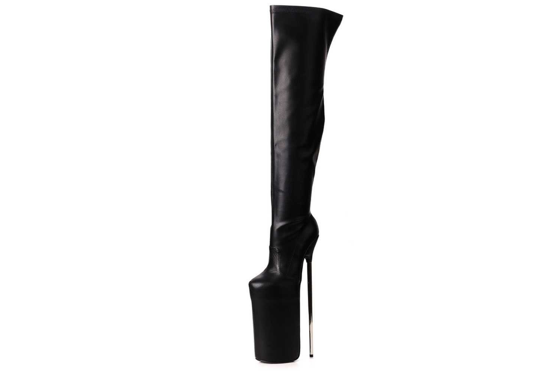 Giaro Overknee Stiefel in Übergrößen Fly High Black Matte online kaufen