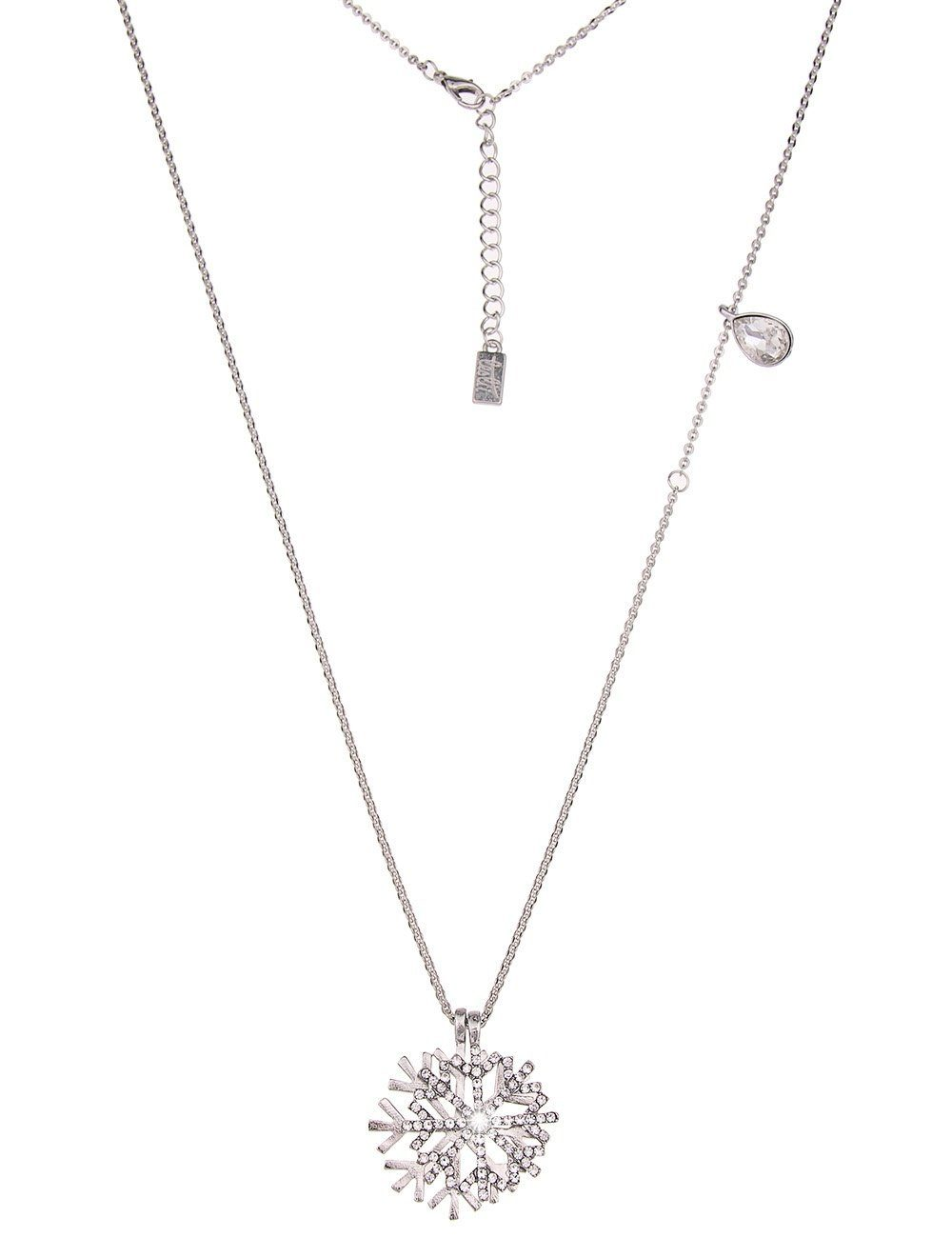 Leslii Halskette mit Schneeflockenanhängern