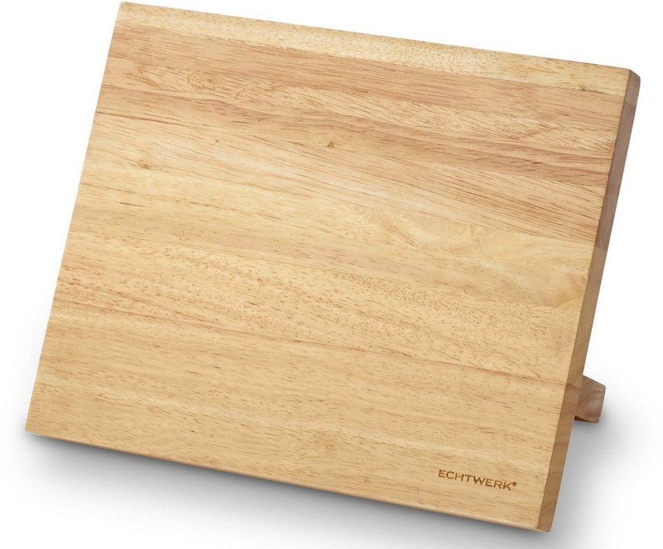 echtwerk magnet messerblock 1tlg aus kautschuk holz online kaufen otto. Black Bedroom Furniture Sets. Home Design Ideas