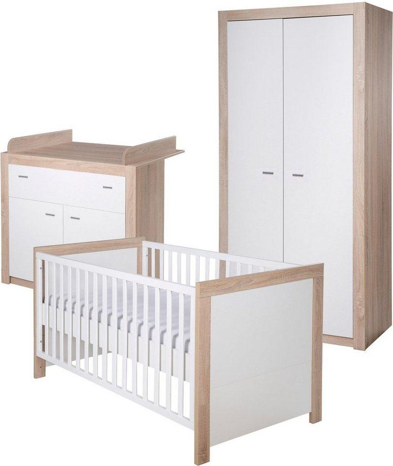Roba babyzimmer set 3 tlg kinderzimmer leni 2 2 t rig online kaufen otto - Roba babyzimmer ...
