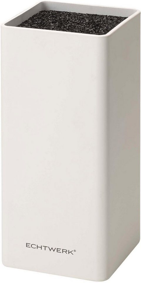 echtwerk messerblock square 1tlg herausnehmbarer borsteneinsatz online kaufen otto. Black Bedroom Furniture Sets. Home Design Ideas