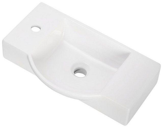 Waschtische - FACKELMANN Waschbecken, Keramik, Breite 55 cm, für Gäste WC  - Onlineshop OTTO