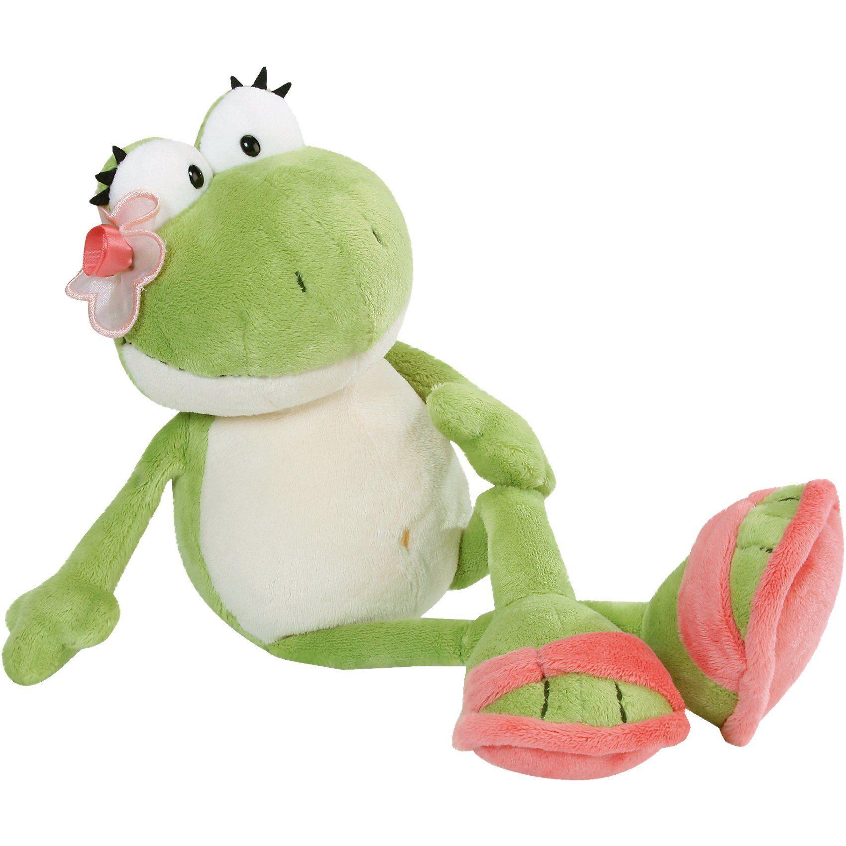 Frosch Mädchen Schlenker, 15cm