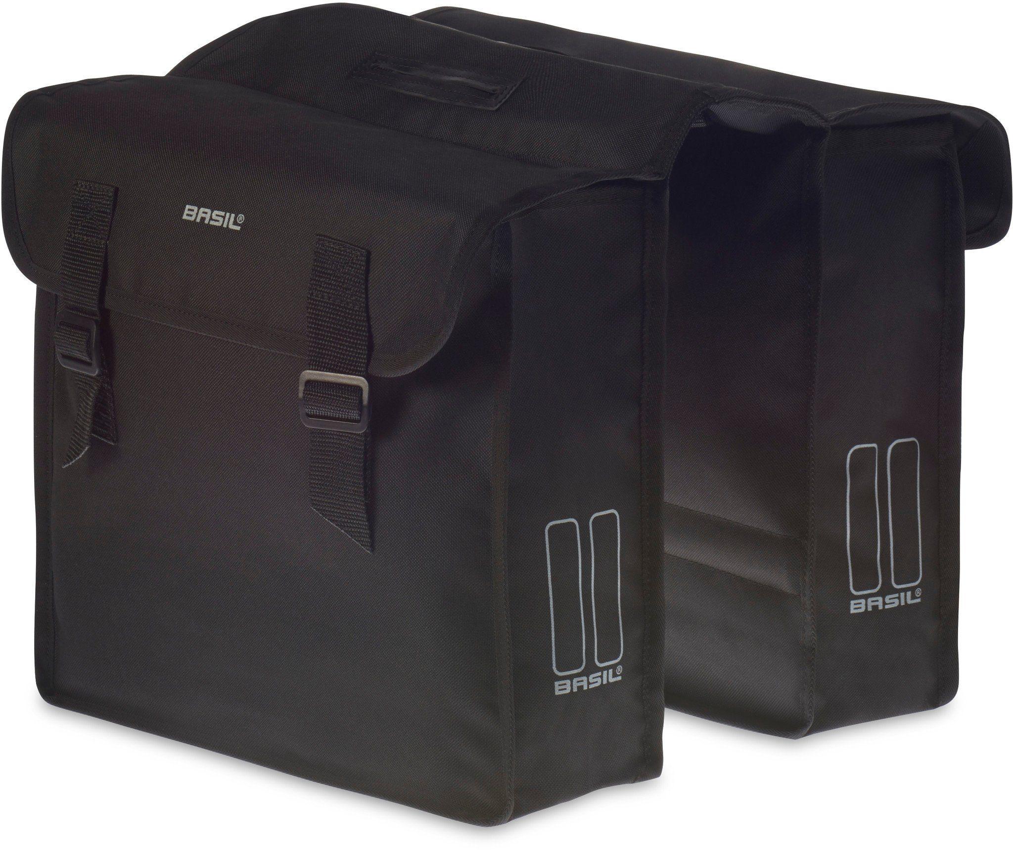 Basil Gepäckträgertasche »Mara Doppeltasche schwarz«