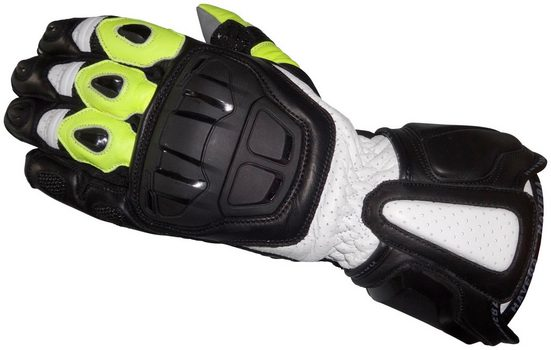 HAVEBA Motorradhandschuhe »Runnix«, Unisex, Obermaterial aus 100% Leder
