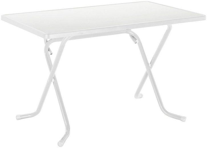BEST Gartentisch »Primo«, klappbar, Stahl/Alcolit, 110x70 cm