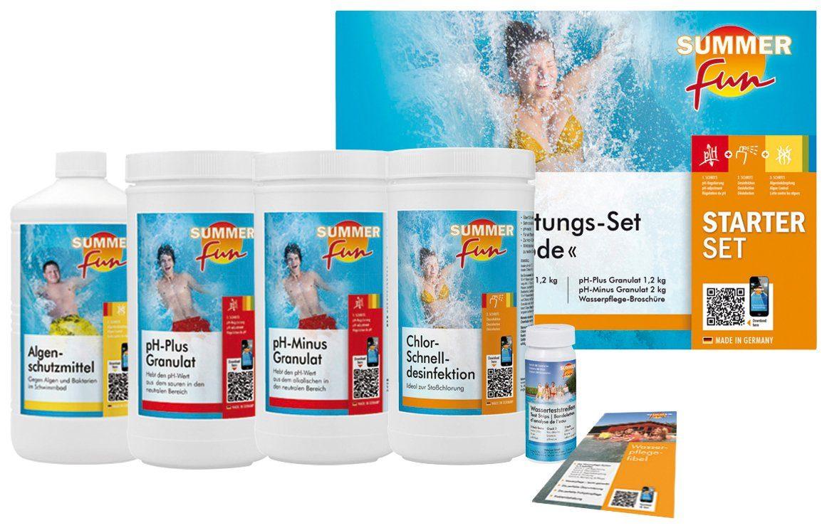 SUMMER FUN : Wasserpflegeset »Starterset Chlor Maxipack«, 6-tlg.