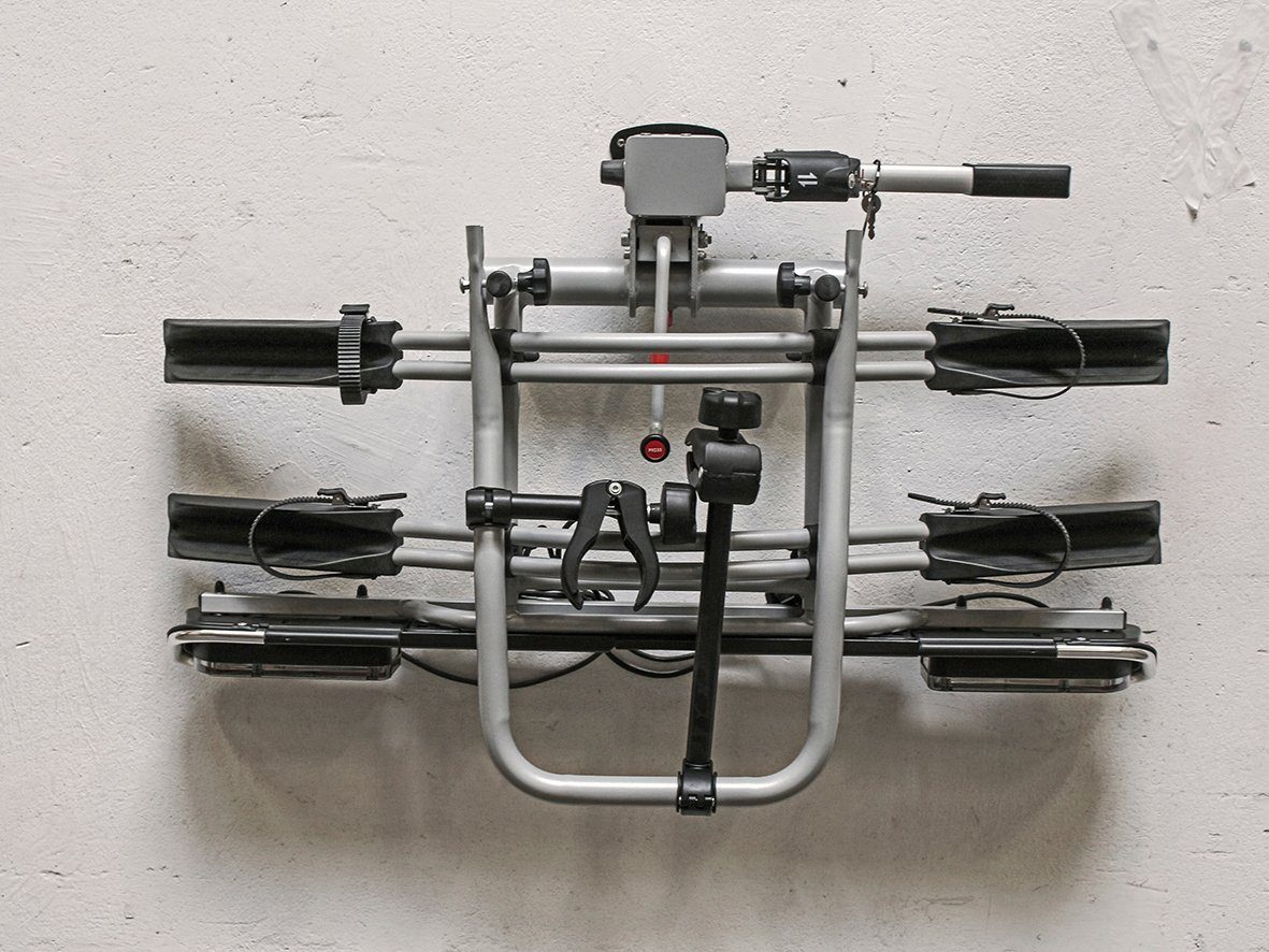 EUFAB Wandhalter »16418«, für Fahrradträger, Inkl. Befestigungsmaterial