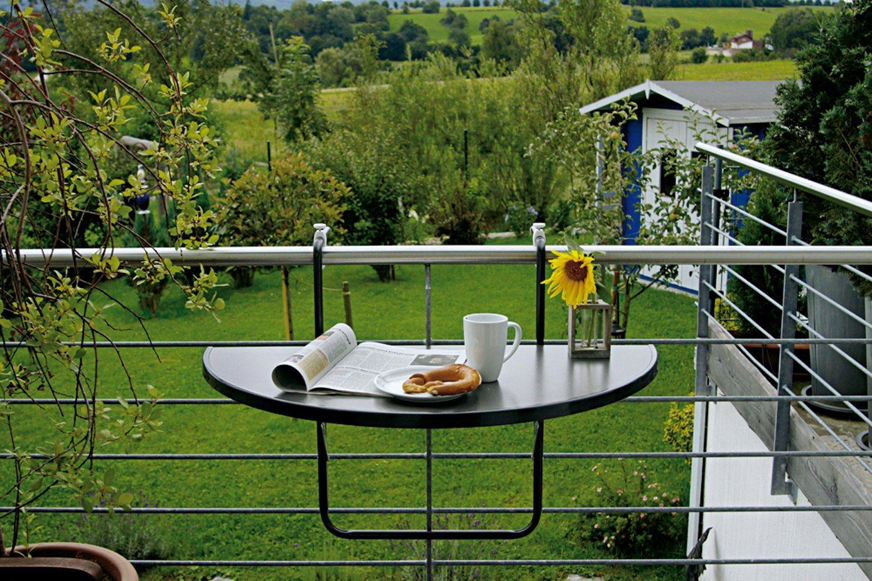 BEST Balkonhängetisch »Butler Boy«, Stahl/Alcolit   Garten > Balkon > Balkontische   Best