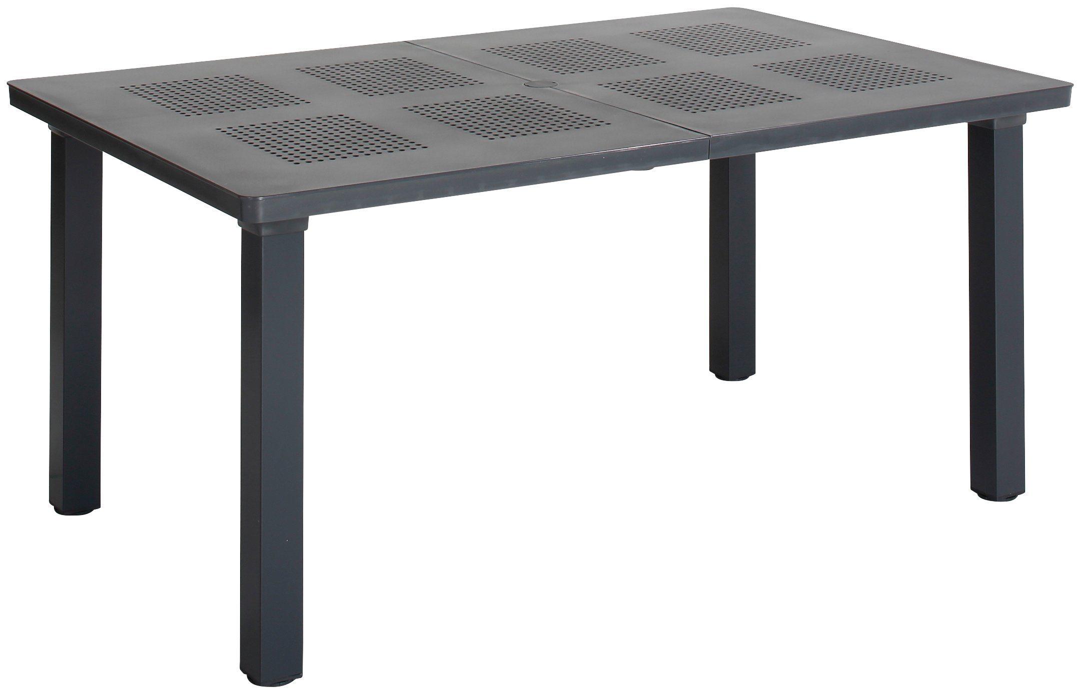 gartentisch ausziehbar kunststoff tisch with gartentisch ausziehbar kunststoff finest. Black Bedroom Furniture Sets. Home Design Ideas