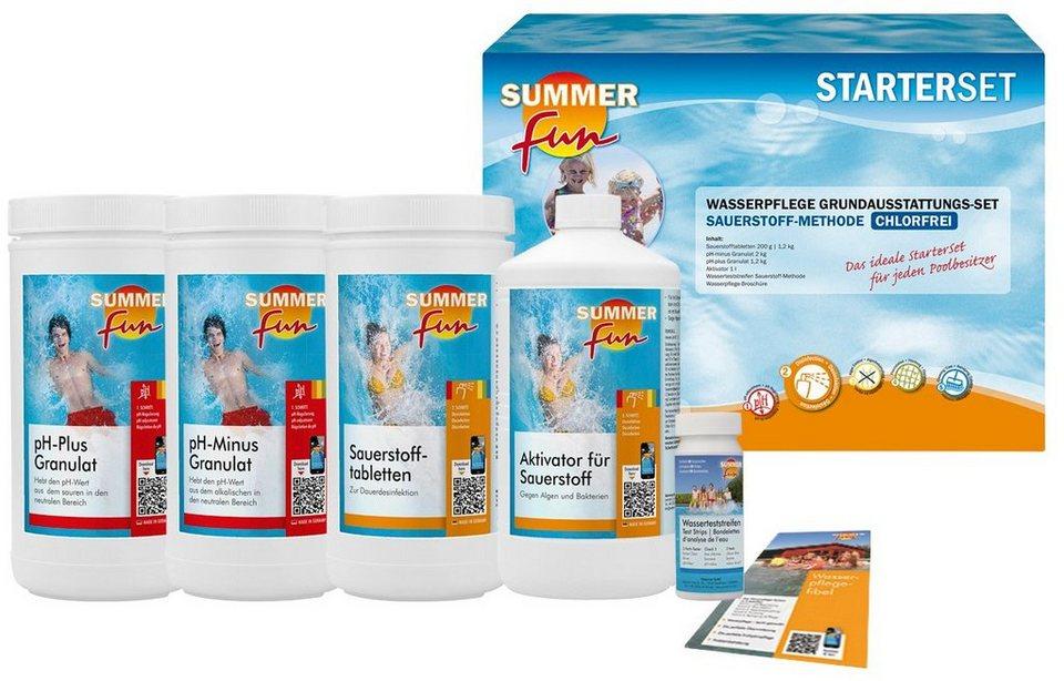 summer fun wasserpflegeset starterset sauerstoff maxipack. Black Bedroom Furniture Sets. Home Design Ideas