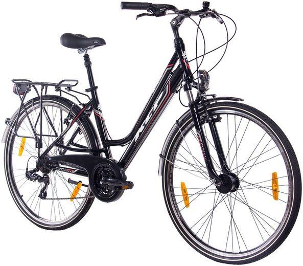"KCP Citybike Damen »Estremo Lady«, 28"", 21 Gänge, V-Bremsen"