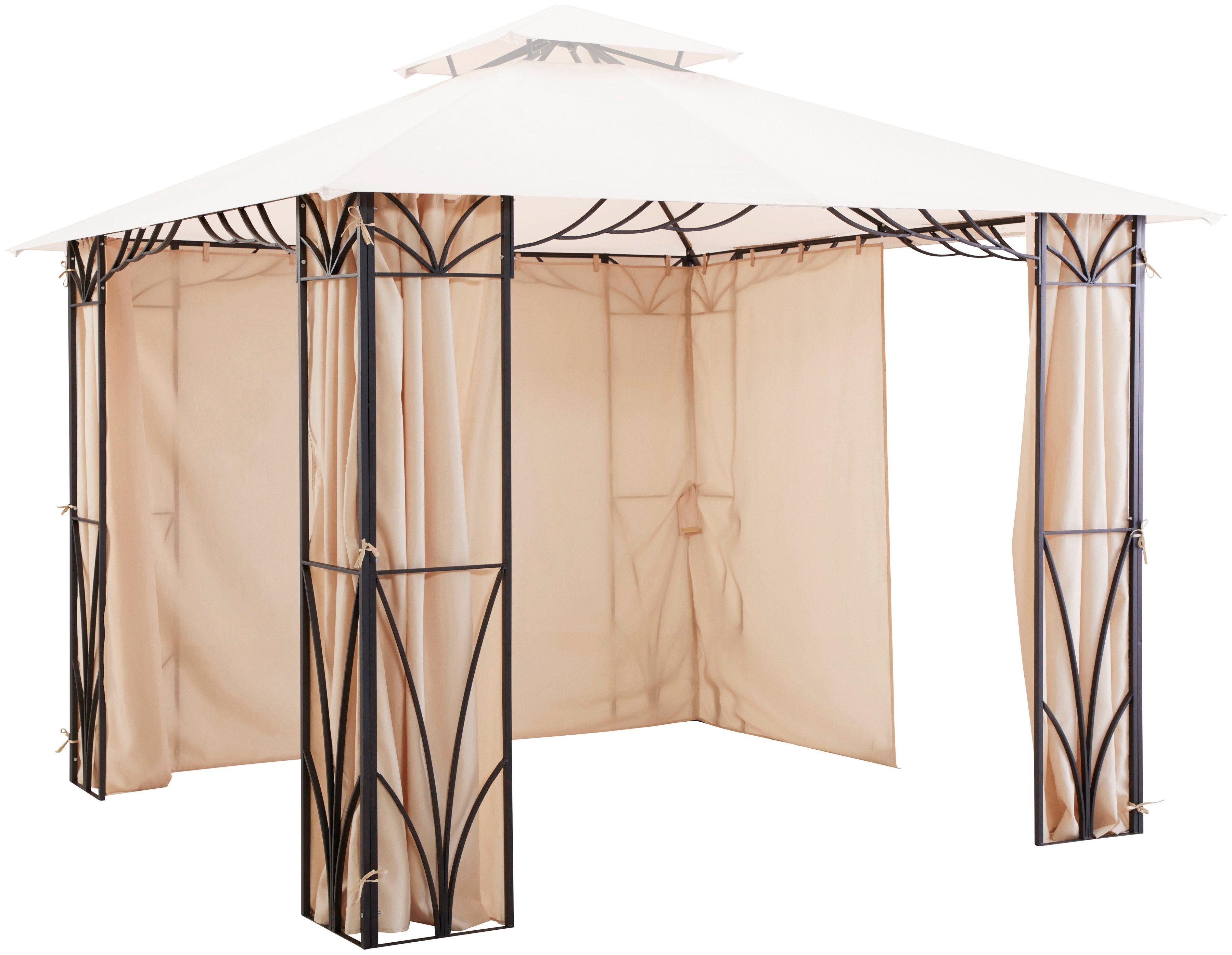 Seitenteile für Pavillon »Venedig«, 4 Seitenteile