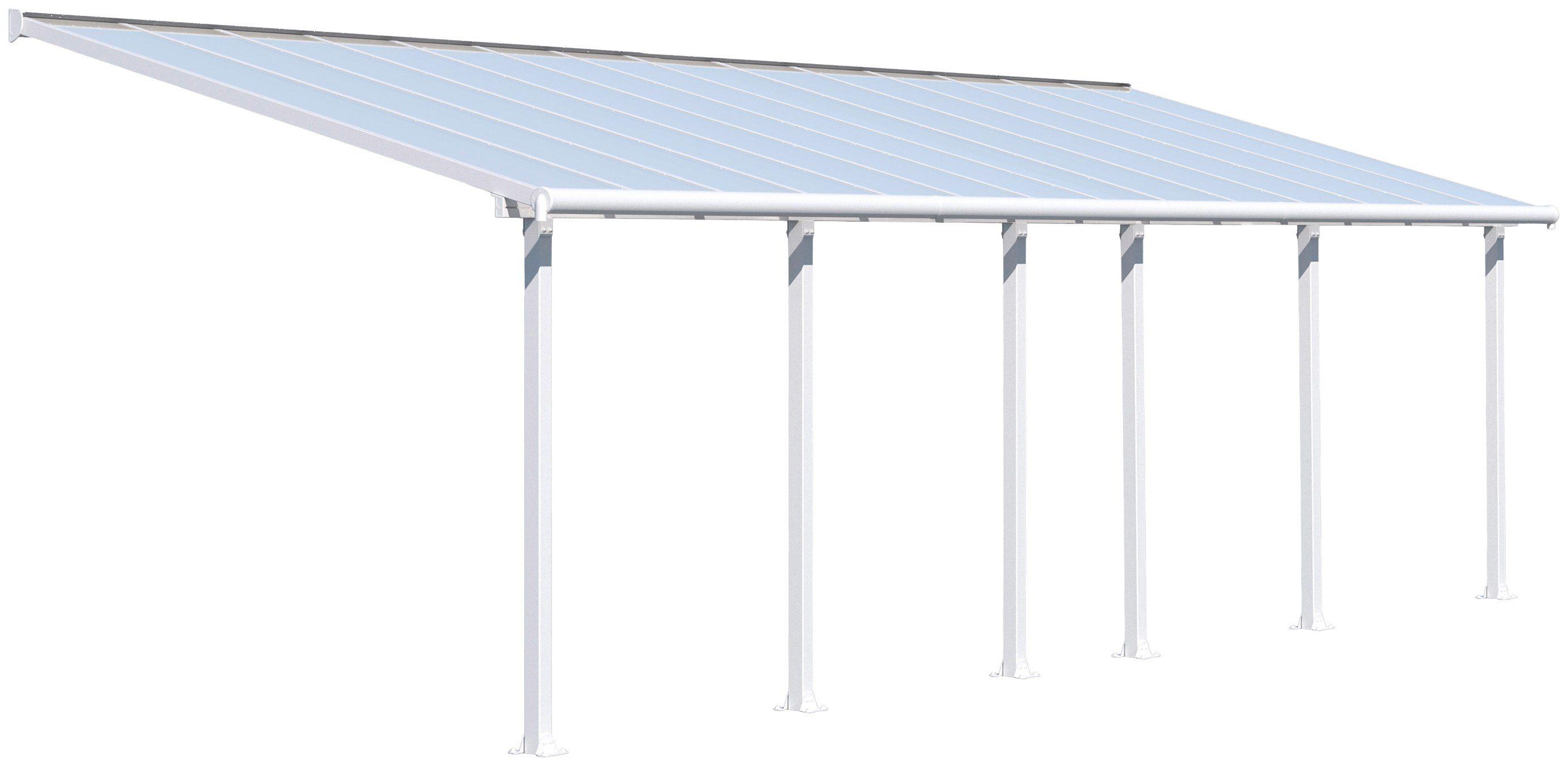 PALRAM Terrassendach »Olympia 3x8.5«, BxT: 860x295 cm