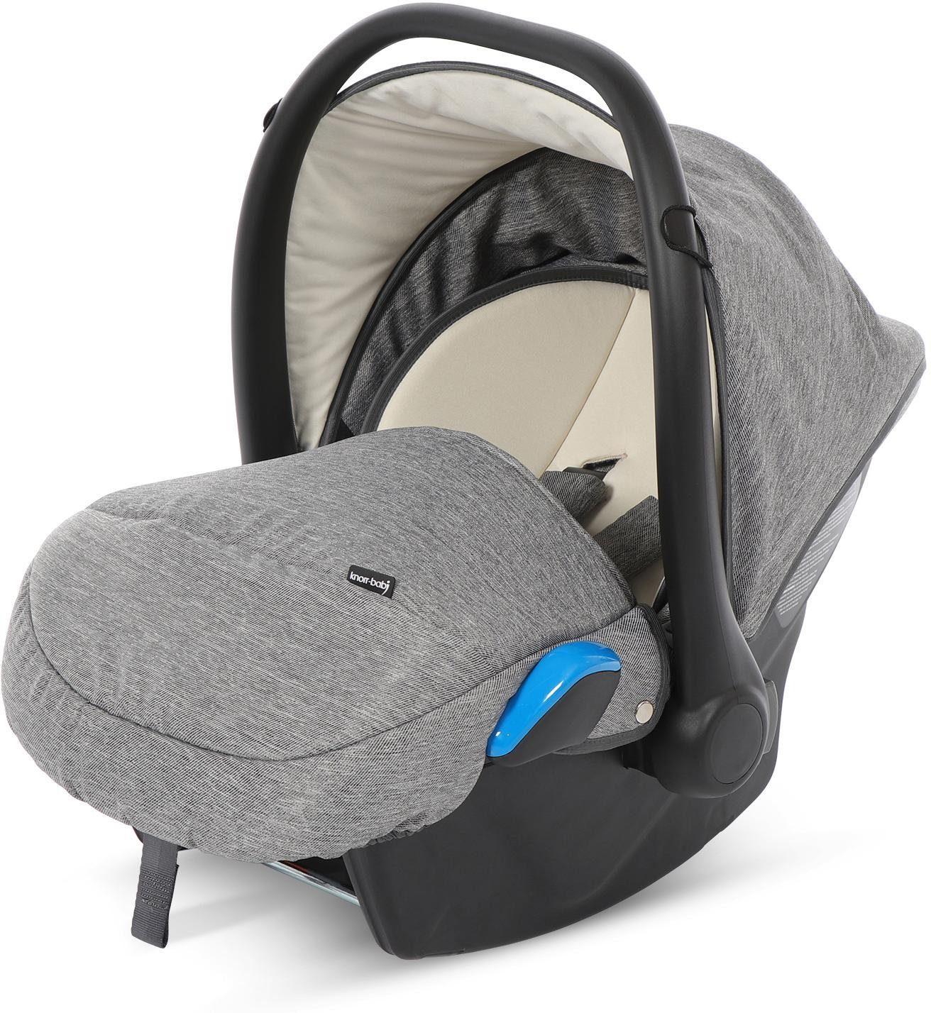 knorr-baby Babyschale, 0 - 13 kg, »Milan für Life+, graphit«
