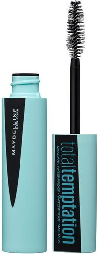 MAYBELLINE NEW YORK Mascara »Total Temptation Waterproof«, Mit Kokosnuss-Extrakt