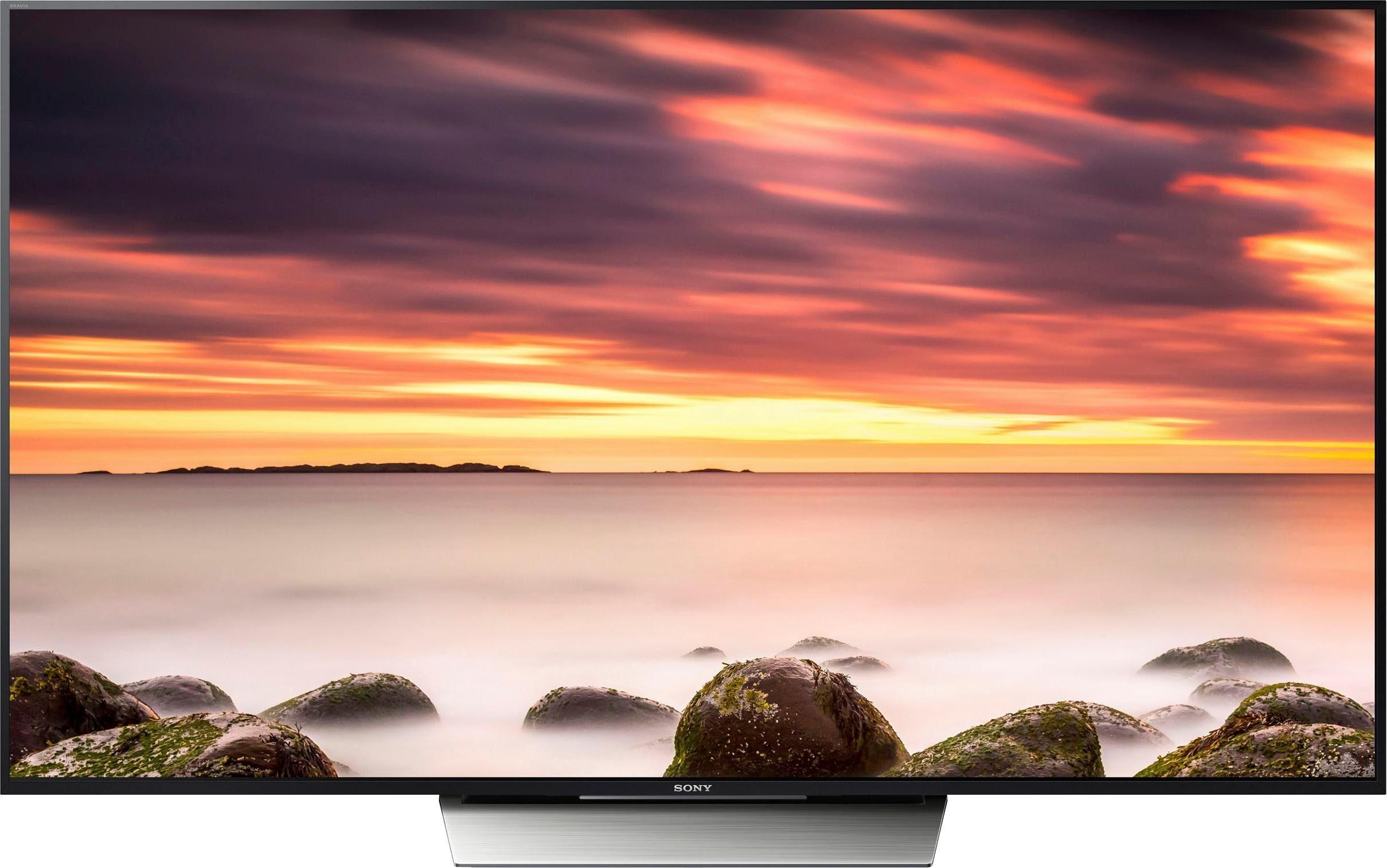 Sony KD65XD8505, mattschwarzer Displayrahmen LED-Fernseher (65 Zoll, 4K Ultra HD)