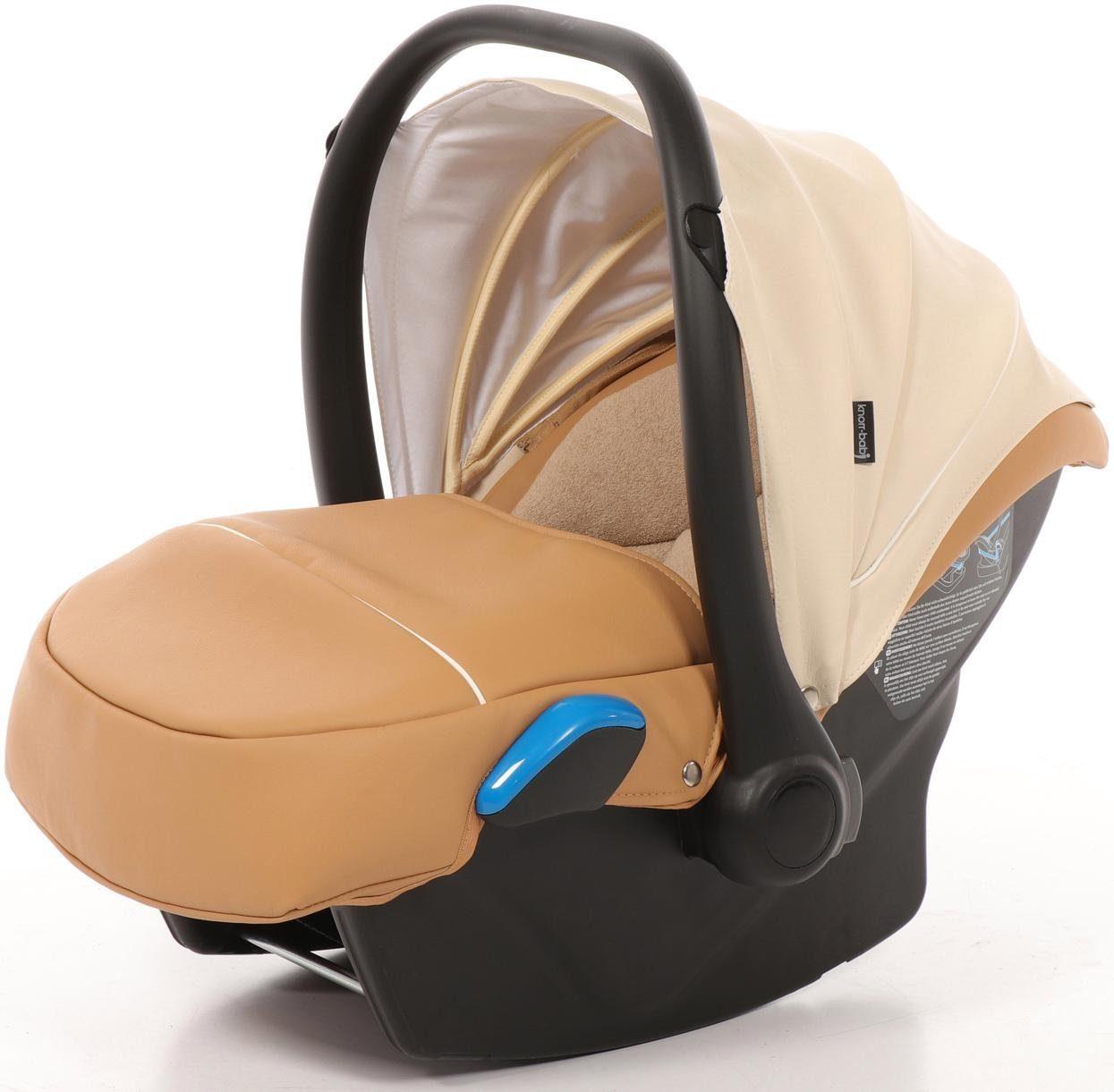 knorr-baby Babyschale, 0 - 13 kg, »Milan für Sportime Wood Art, hellbeige«