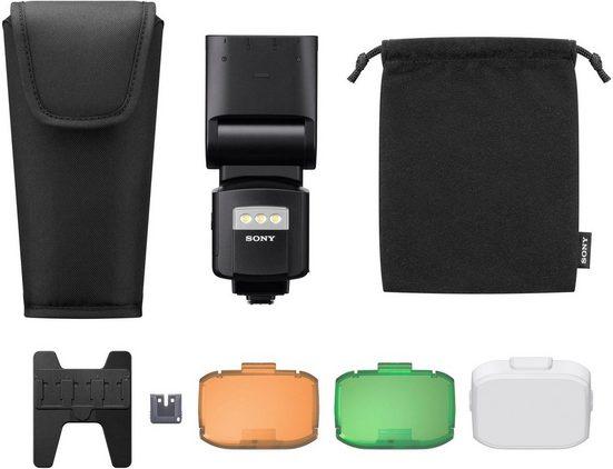 Sony »HVL-F60RM« Systemblitz, (mit Funkempfänger/-bedienung, integrierter Wireless Sender und Receiver)