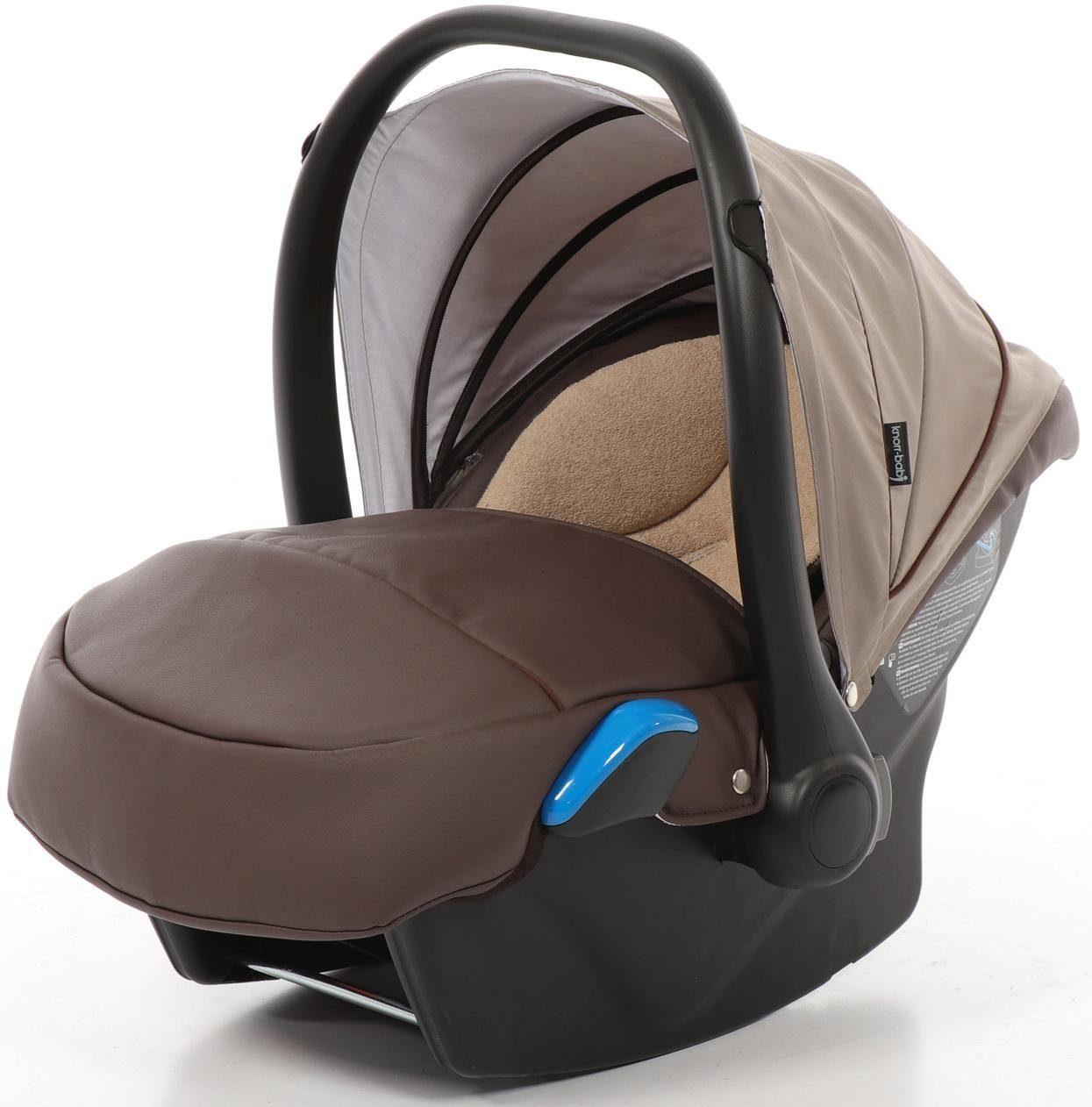knorr-baby Babyschale, 0 - 13 kg, »Milan für Sportime Wood Art, braun«